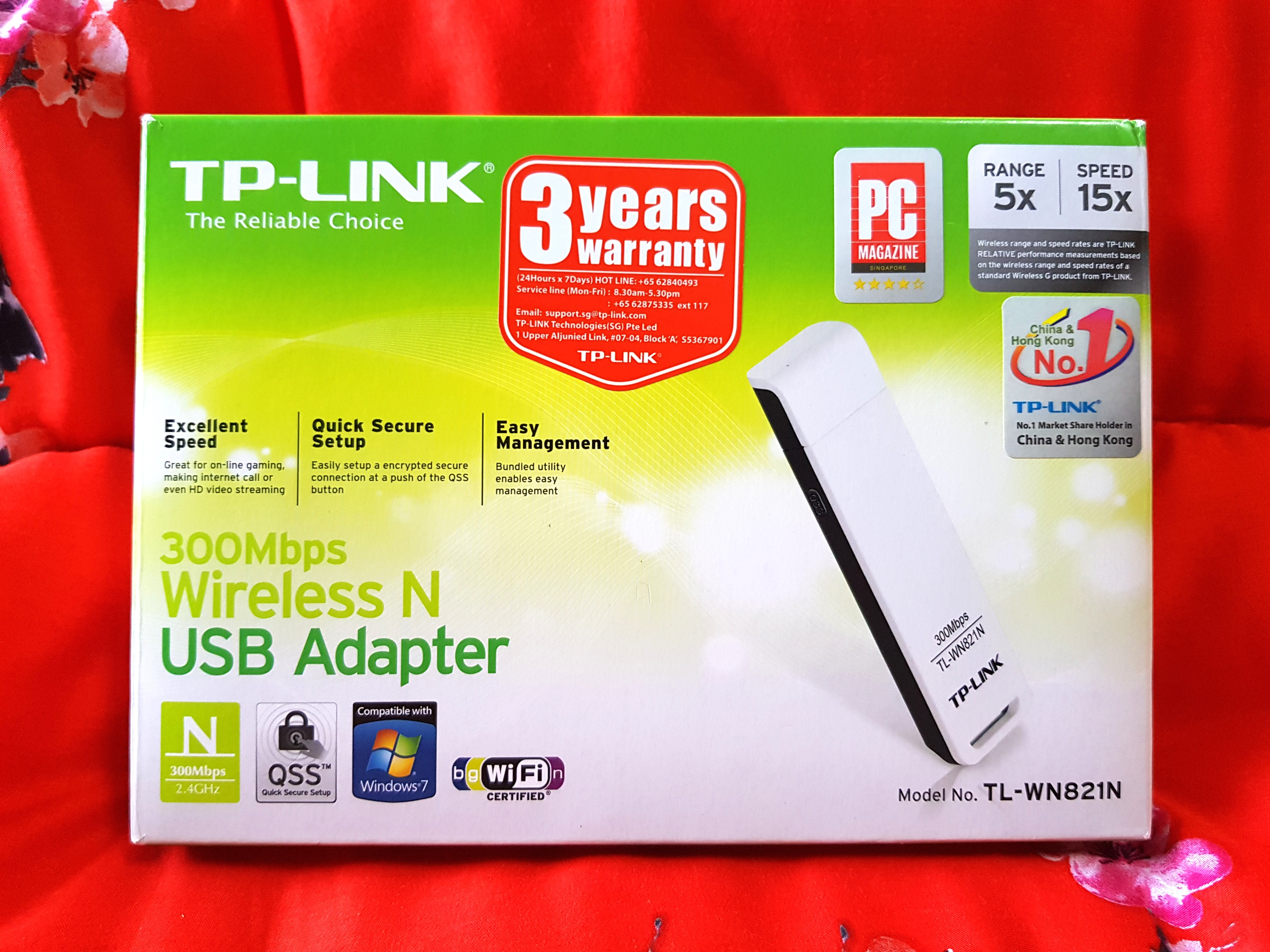 Tp Link 300mbps Wireless N Usb Adapter Tl Wn821n Electronics Wifi Wn 821n Speed 300 Mbps Computer Parts Accessories On Carousell