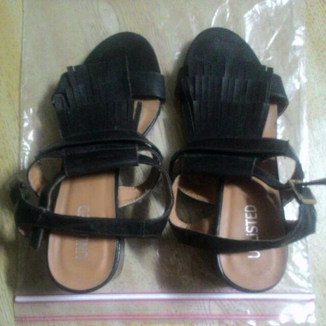 Unlisted Alyanna Wedge Sandals size 36