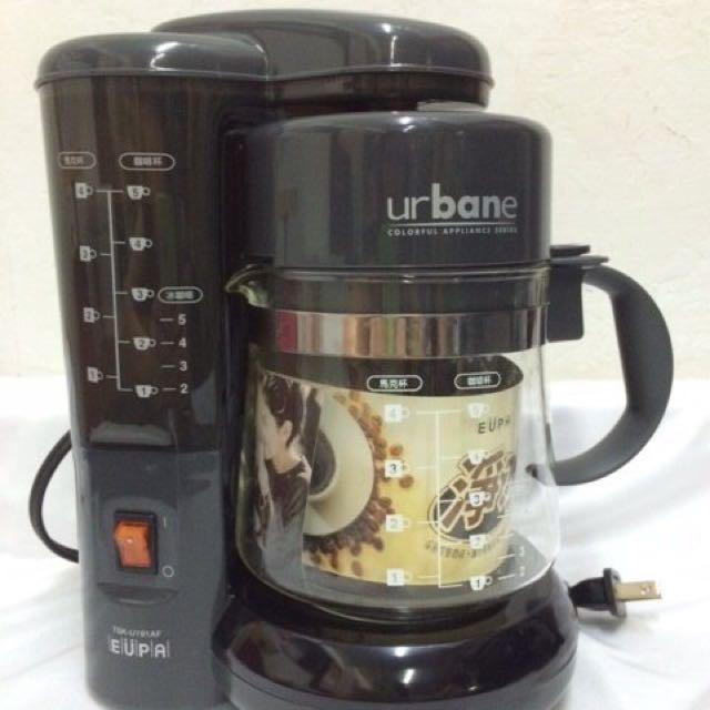 Urbane5杯份咖啡壺 滴漏式咖啡機