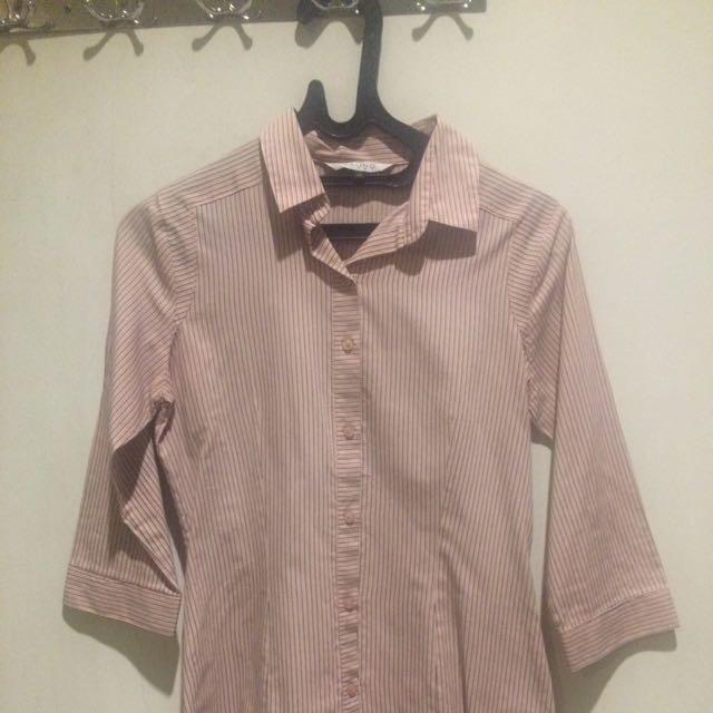 Valino Pink 3/4 Shirt