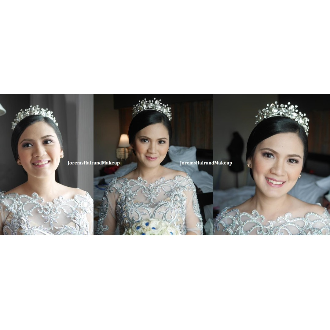 wedding hair and makeup artist philippines by jorems on