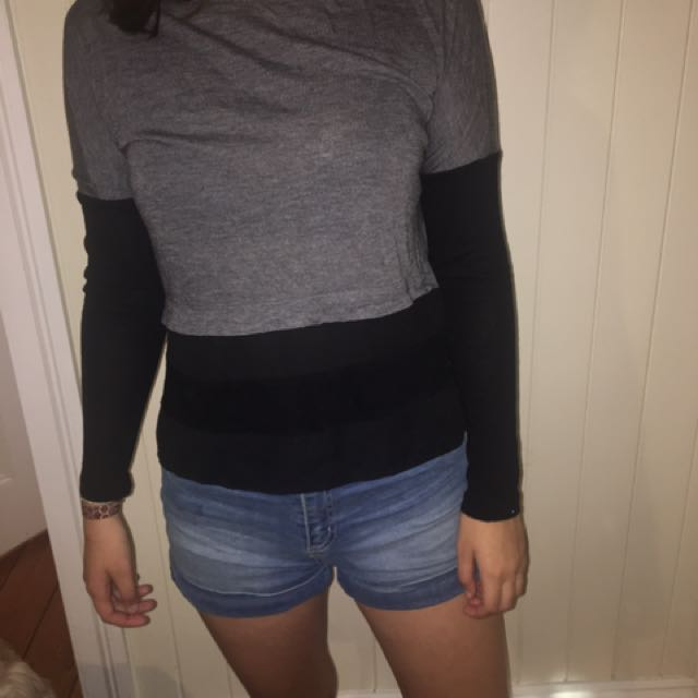 Witchery 3 toned long sleeve top