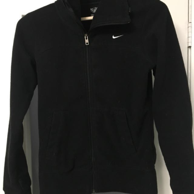 Women's Nike Fleece Full Zip Small