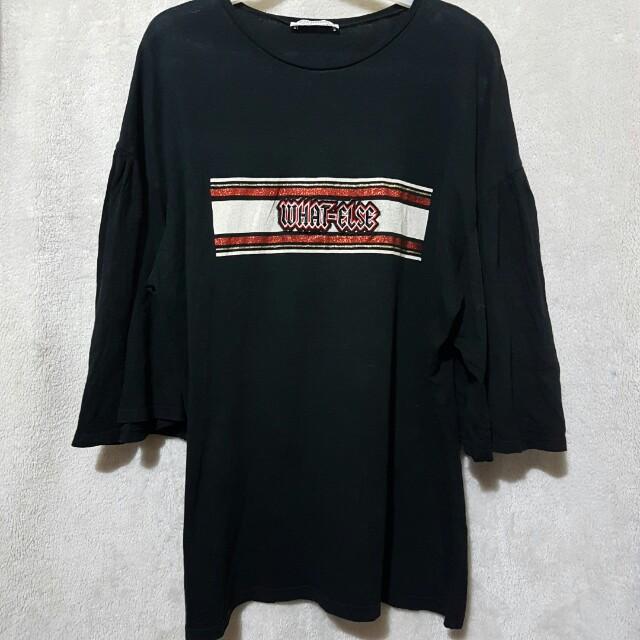 Zara patch bell top