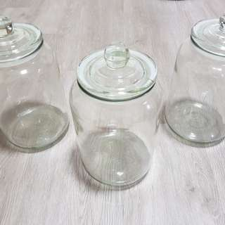 Glass Jars for Wedding Reception / Party Decoration