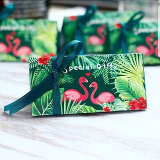 Flamingo Favor Box