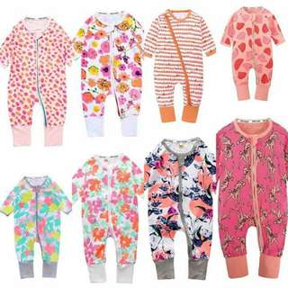 Baby Sleepsuit Bonds Inspired
