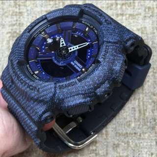 Brand New Casio Baby-G Denim Series BA-110DC-2A1   ......   ba-110