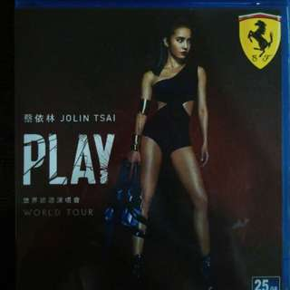 Jolin tsai play world tour Blu Ray concert