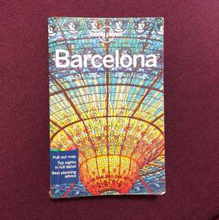 Lonely Planet Travel Guide Book - Barcelona