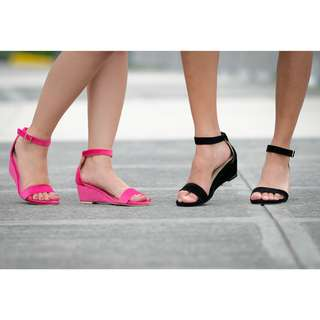 Women's Ankle Strap Wedge Shoes