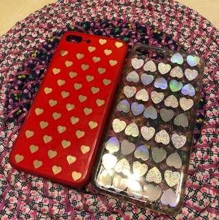 心心系列i phone 7plus 電話殼