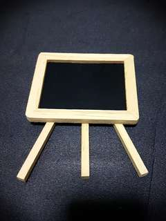 Mini Blackboard Easel
