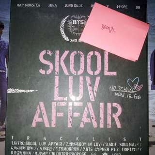 [WTS] BTS SKOOL LUV AFFAIR