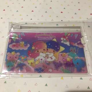 Sanrio little Twin stars small ziplog