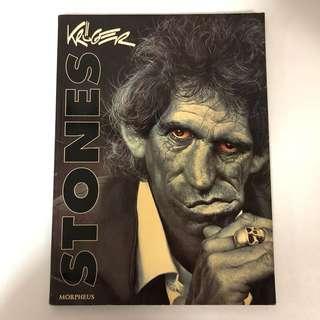 1994 Rolling Stones Caricatures Book - Sebastian Kruger