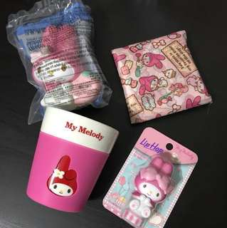 Melody items
