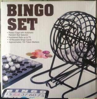 Mini Bingo Tambiolo Set. Brand New. P1,200