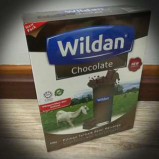BNIB Brand New WILDAN Chocolate Susu Kambing (Goat Milk)