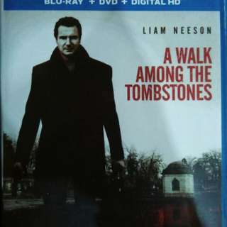 A walk among the tombstones Blu Ray movie