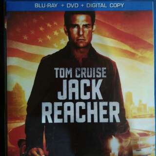 Tom cruise jack reacher Blu Ray Movies