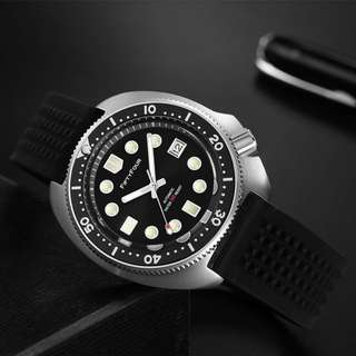 Turtle 6105-8110 Ceramic Bezel NH35 Tuna Diver Automatic wrist watch Mens diver