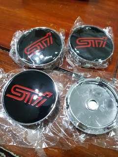 STi Wheel Hub Cap