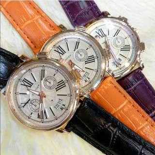 Jam tangan cartier bulat