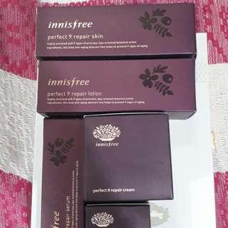 Innisfree Perfect 9 Skincare Set