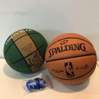 Spaulding 兒童籃球 台啤籃球隊兒童籃球買一送一