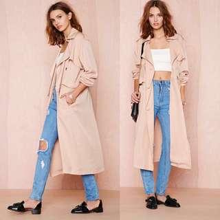 Detachable Long Coat