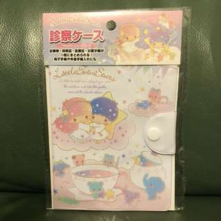 全新日本Little Twin Stars passport holder / 手帳