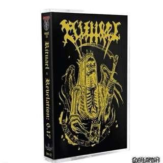 """Rituael """"Revelation: 6.17 tape"""