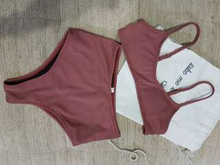 BRAND NEW EIGHTH MERMAID COOPER HI-KINI XS ROSEWOOD