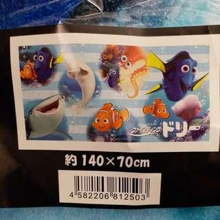 迪士尼finding Nemo dory 大毛巾 浴巾