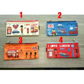 Cute Cartoon Children Waterproof Pencil Case * Ready Stock *
