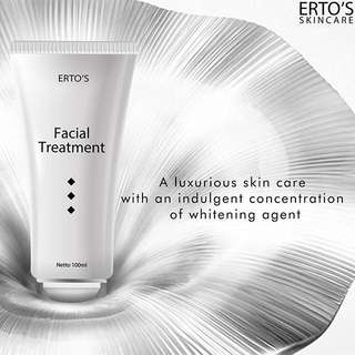❤️ ONLY 85K FOR YOUR DAILY FACIAL TREATMENT!!!! ERTOS Facial Treatment 100 ml