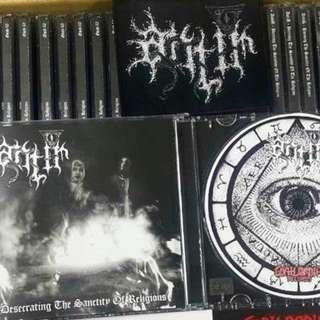 "Anti-R ""Desecrating the sanctity of religions"" CD"