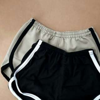 Adidas Short (Nude and Black)