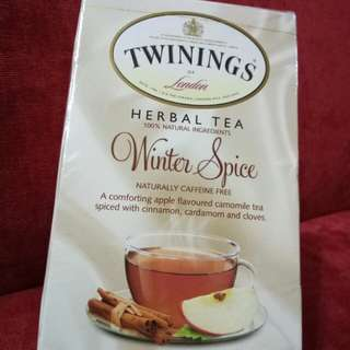IMPORTED TWININGS HERBAL TEA