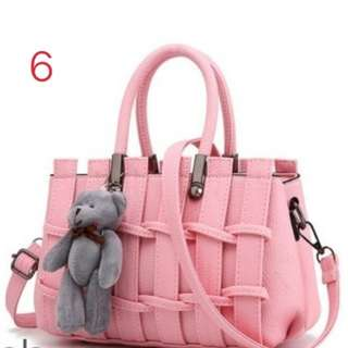 Charming Weave Design Sling Bag