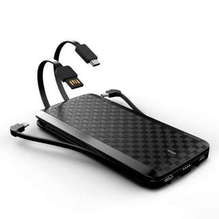 Preorder: IWALK SCORPION X - 12,000MAH WITH BUILT-IN LIGHTNING, TYPE-C AND MICRO-USB CABLES