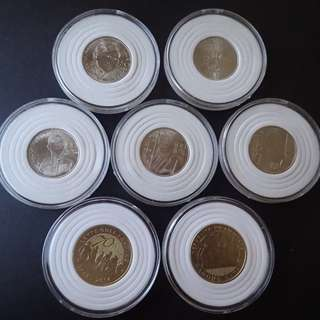 UNC Phl Commemorative coins in capsules (with wholesale price)