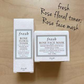 BNIP Fresh Rose 🌹 Face Mask / Floral Toner