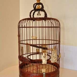 五十年前以上高裝雀籠