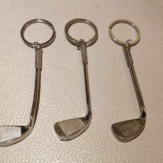 Golf Iron Golf Club Key Chain. Brand New. P95. each