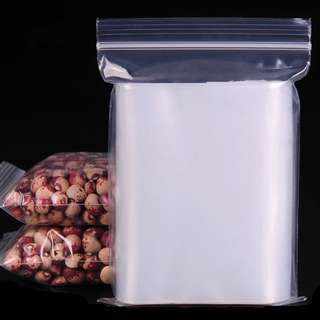 22x32cm Resealable Ziplock Bags Clear 20pcs