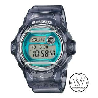 Brand New Casio Baby-G Translucent Grey BG-169R-8B   ....  bg-169