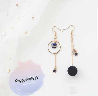 Universe galaxy series earrings