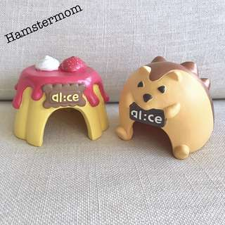 Cute Dwarf Hamster Hideout House Toy